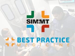 SIM-MT and Best Practice Medicine - logos