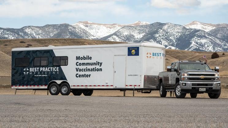 Mobile Community Vaccination Center