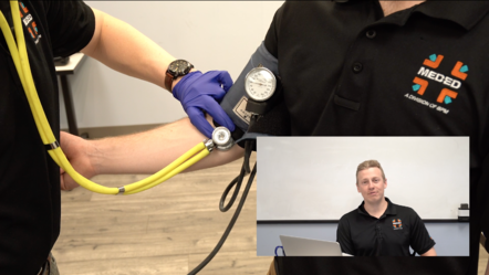 Blood Pressure Cuff placement and commentary