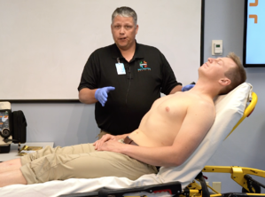 Proper position for EKG is supine or semi-fowlers